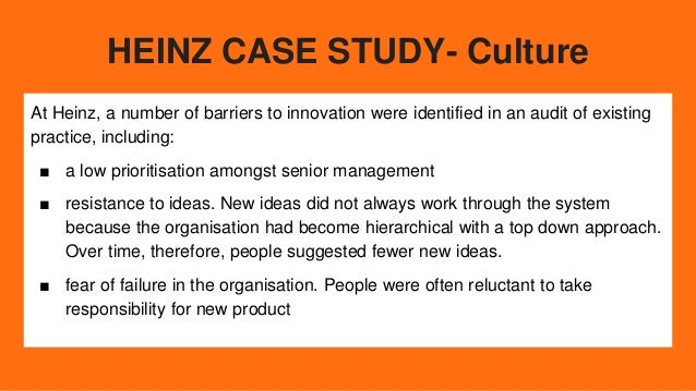 heinz case analysis H j heinz m&a case solution,h j heinz m&a case analysis, h j heinz m&a case study solution, this case describes the acquisition of hj heinz company by 3g and.