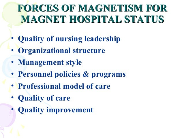 Should I Work For A Magnet Hospital?