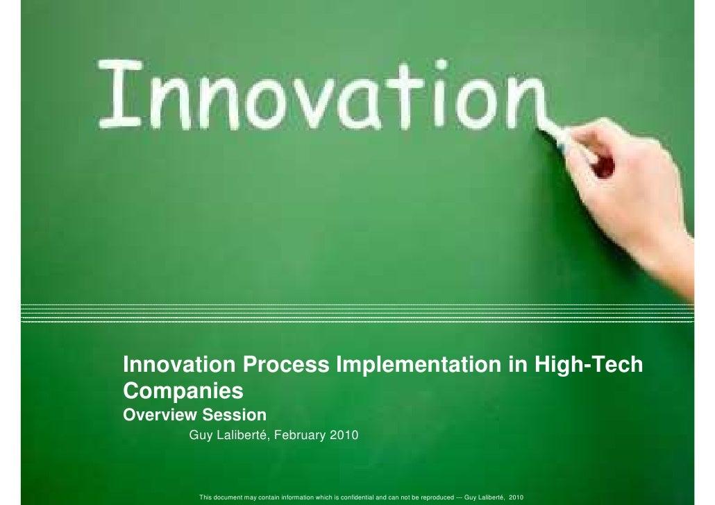 Innovation Process Implementation