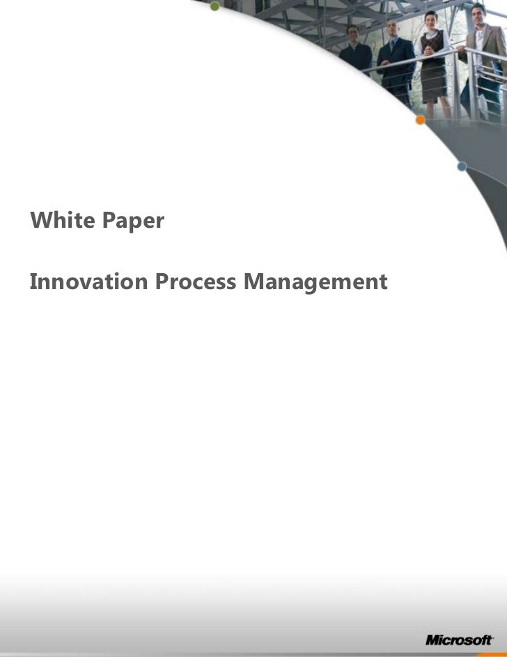 White PaperInnovation Process Management