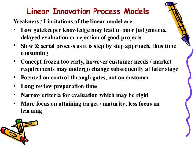 What is Linear Model of Innovation