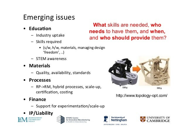 impact of 3d printing on business 1 the impact of 3d printing technologies on business model innovation 5 innovation can lead to radical change, just as radical innovation can reveal itself as insignificantly disruptive (rayna and striukova, 2009.