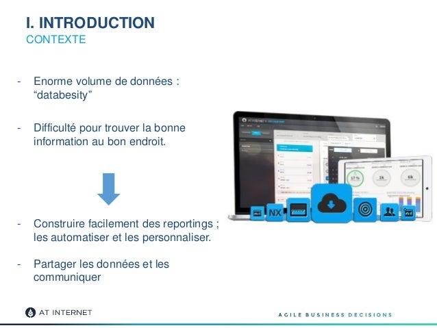 """I. INTRODUCTION CONTEXTE - Enorme volume de données : """"databesity"""" - Difficulté pour trouver la bonne information au bon e..."""