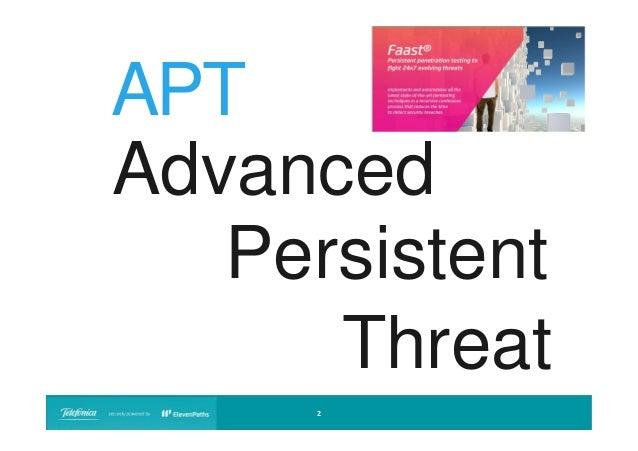 APT Advanced Persistent Threat 2