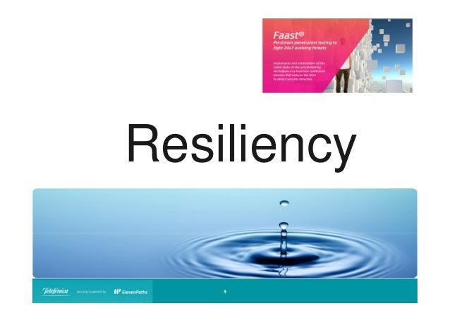 Resiliency 3