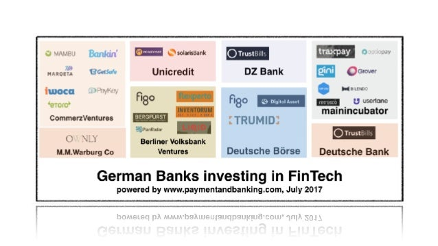 """4: Es ist kein Banken vs FinTech mehr -  fast jede Bank hat ihre """"Kooperation"""""""