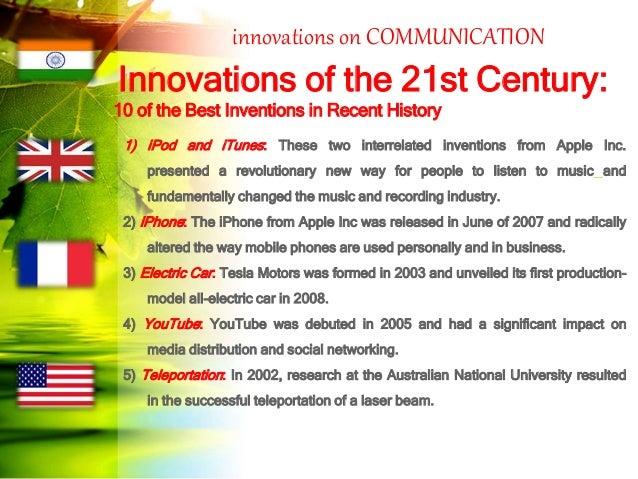 Essay on invention of 21st century
