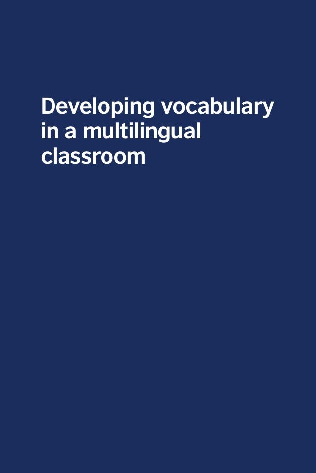 vocabulary acquisition in tesol Strategies for teaching esl student - esl students in the classroom teaching students who have a limited understanding of the english language can be a.