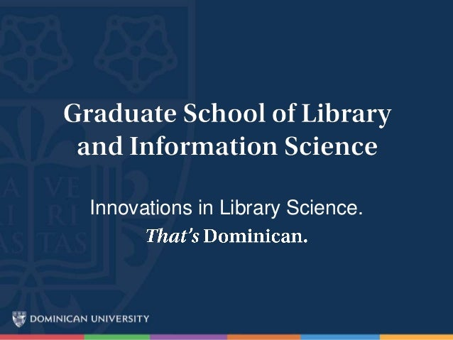 Innovations in Library Science.