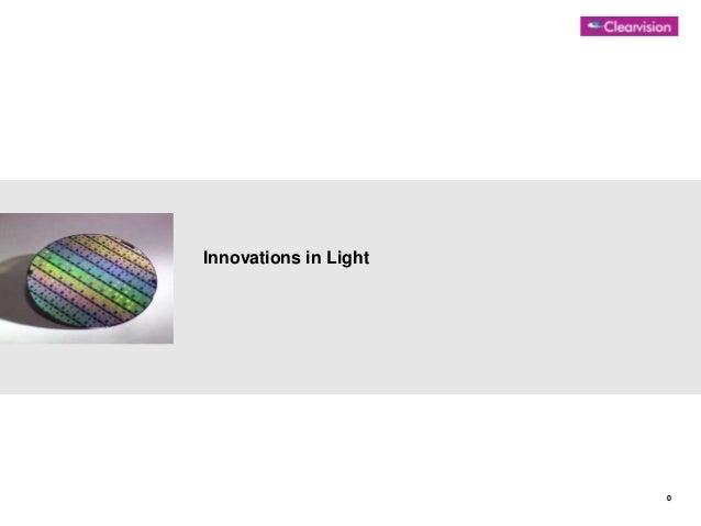 Innovations in Light  0
