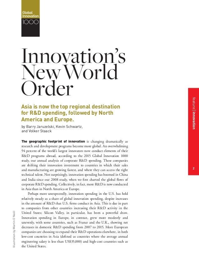 Innovations New World Order Slide 3