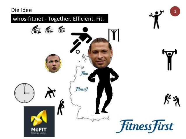 Die Idee whos-fit.net - Together. Efficient. Fit. 1