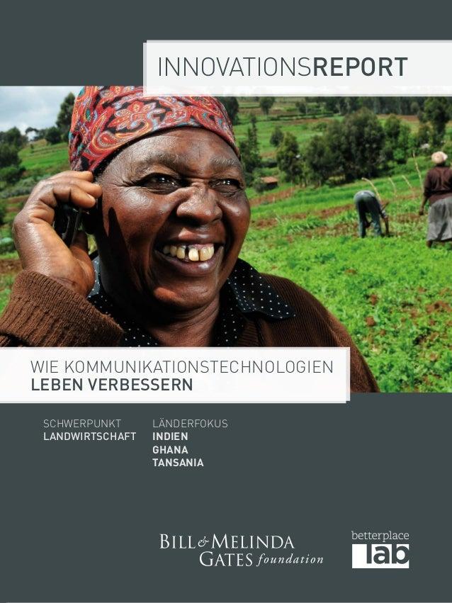 Innovationsreport  Wie Kommunikationstechnologien  Leben verbessern  Schwerpunkt  Landwirtschaft  LänderFokus  Indien  Gha...