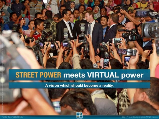 STREET POWER meets VIRTUAL power  A vision which should become a reality.  http://mirajnews.com/wp-content/uploads/2014/10...