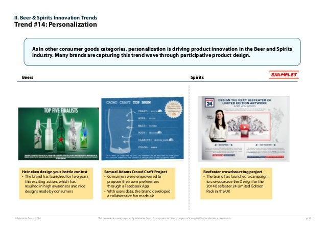 Innovation Trends In Beer Amp Spirits 2015