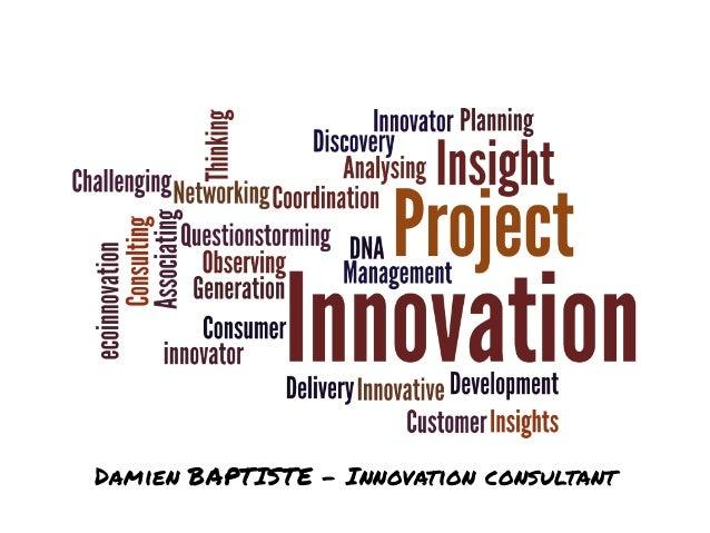 Damien BAPTISTE - Innovation consultant