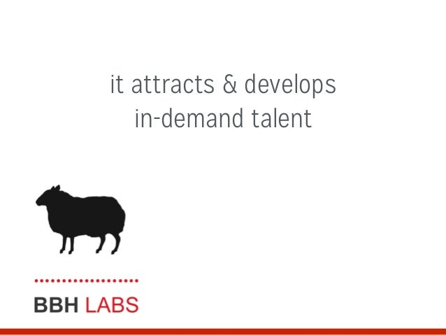 it attracts & develops in-demand talent