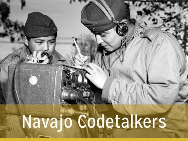 Navajo Codetalkers