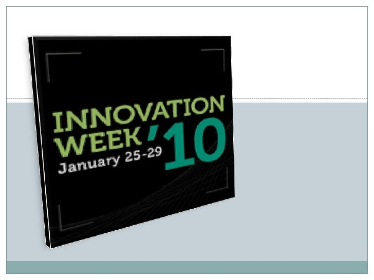 My oral presentation of the Innovation Week