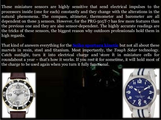 Innovative and exceptional casio protrek titanium watches Slide 3