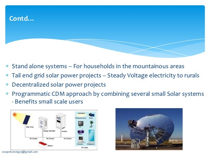 application of solar energy pdf