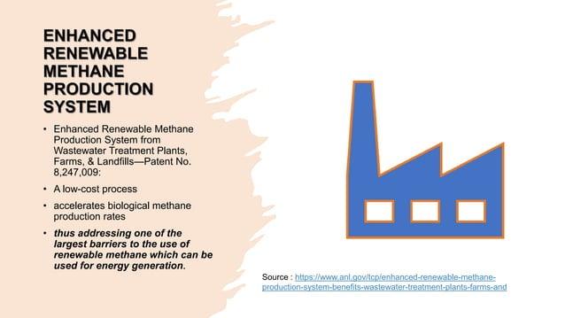 ENHANCED RENEWABLE METHANE PRODUCTION SYSTEM • Enhanced Renewable Methane Production System from Wastewater Treatment Plan...