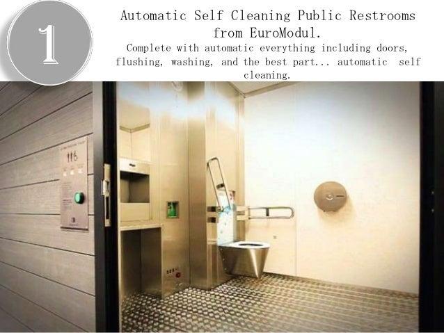 5Innovative Bathroom ProductsInnovative Bathroom Products Redefining The  Public Redefining The Public Restroom Restroom; 2.