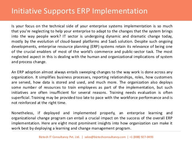 10 Steps to Successful ERP Implementation - Skyward Techno