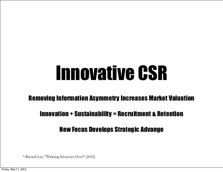 Innovative CSR Slide 2
