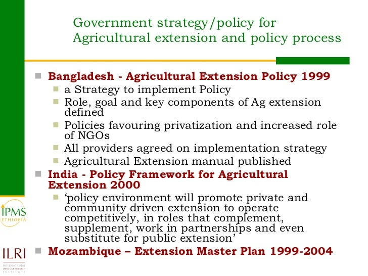 agricultural policy of ethiopia pdf