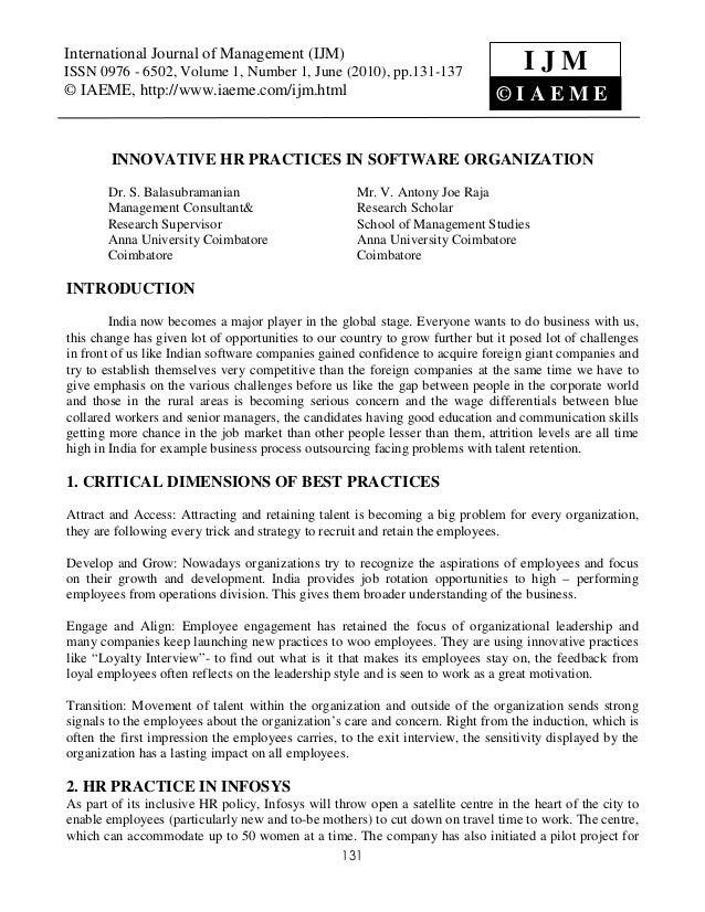 International Journal of Management (IJM) Volume 1, Number 1, June (2010), © IAEMEInternational Journal of Management (IJM...