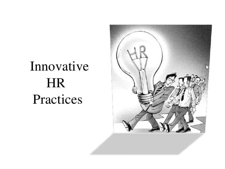 innovative hr practices ppt presentation