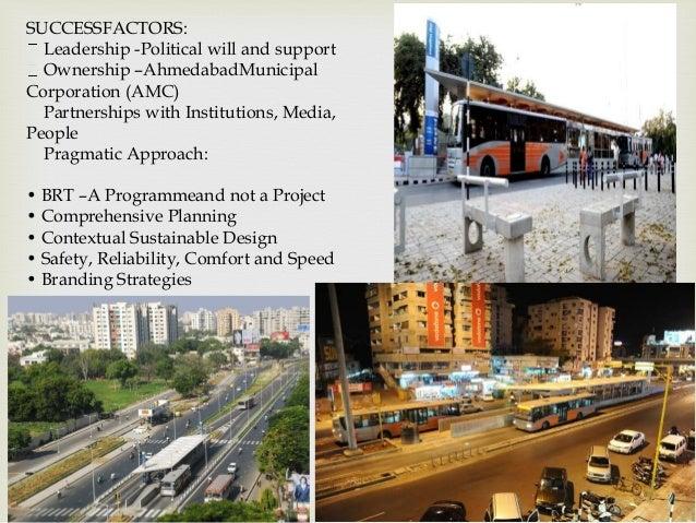 BRTS Ahmadabad, innovative project