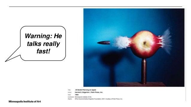 Warning: He talks really fast!