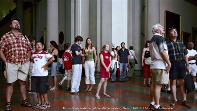 "Thomas Struth ""Audience 1 (Galleria Dell Accademia), Florenz"", 2010.51.2, Minneapolis Institute of Art"