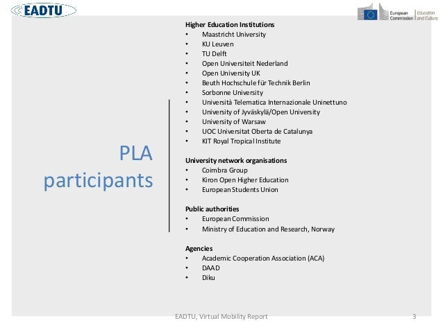 Innovative models for collaboration and student mobility in europe Slide 3