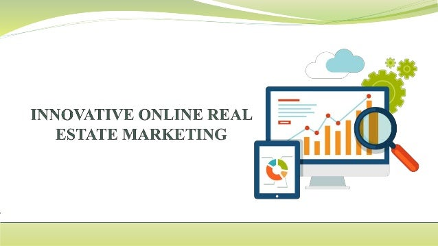 Innovative online real estate marketing for Innovative home designs and marketing
