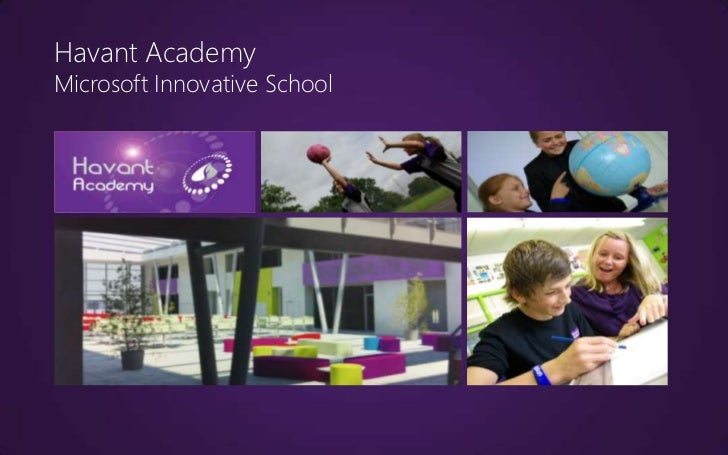 Havant AcademyMicrosoft Innovative School