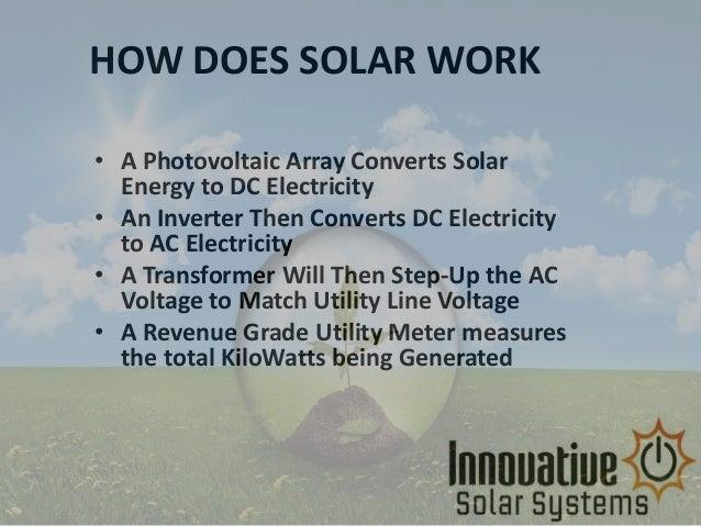 Innovative solarsystems Slide 2