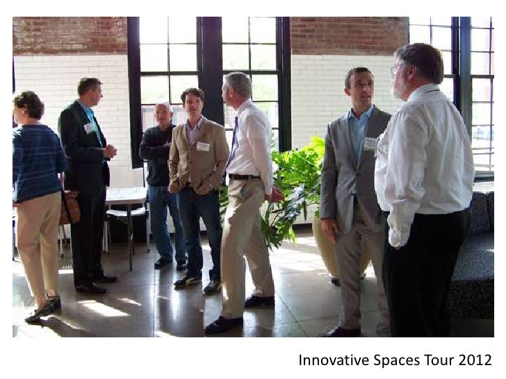 Innovative Spaces Tour 2012