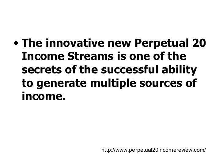 Innovative system generates income from multiple sources at Slide 3