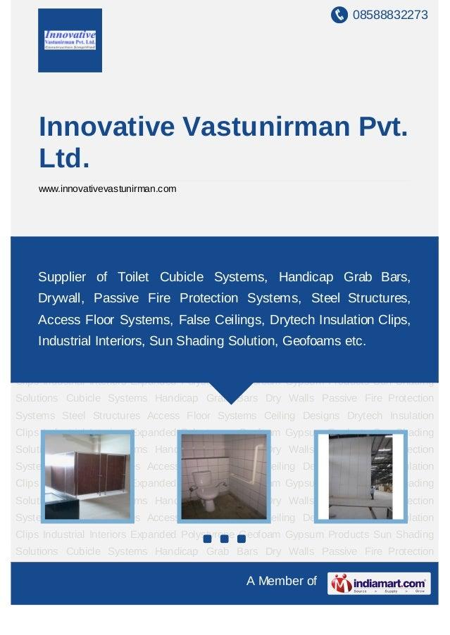 08588832273    Innovative Vastunirman Pvt.    Ltd.    www.innovativevastunirman.comCubicle Systems Handicap Grab Bars Dry ...