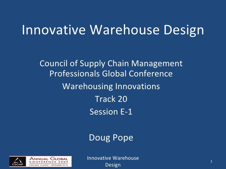 Innovative Warehouse Design