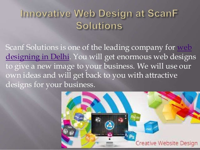 Innovative web design in delhi