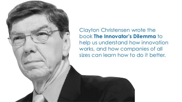 Today's 60-Second Book Brief: The Innovator's Dilemma by Clayton Christensen. Slide 2