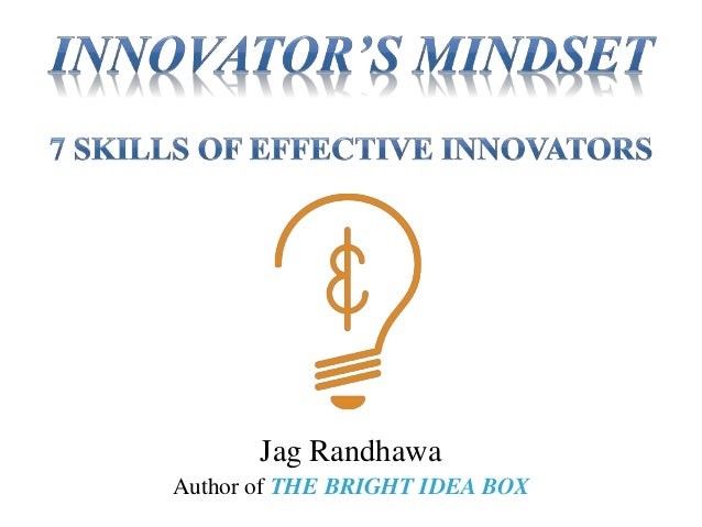 Jag Randhawa Author of THE BRIGHT IDEA BOX