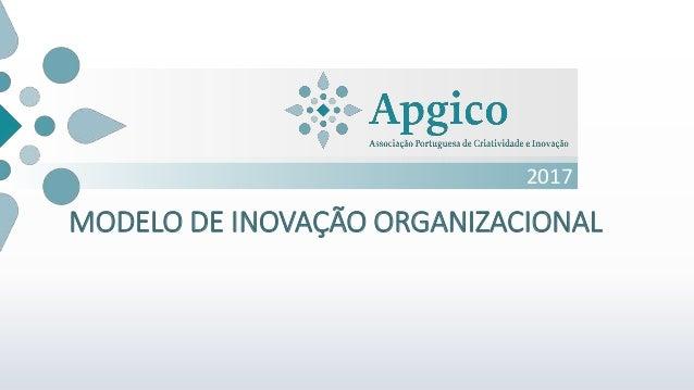 2017 MODELO DE INOVAÇÃO ORGANIZACIONAL