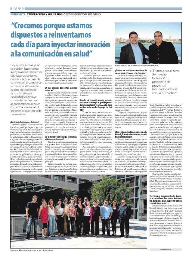 ¿Cuálessonlosorígenesdeinnuo?Nuestra agencia nace en 2002 enBarcelona participada por la agenciainternacional Draft Worldw...