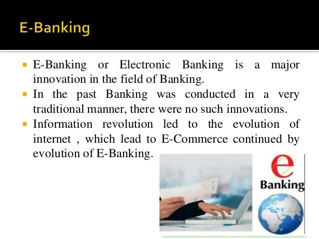 Innovation Of Products Amp Services In Banking