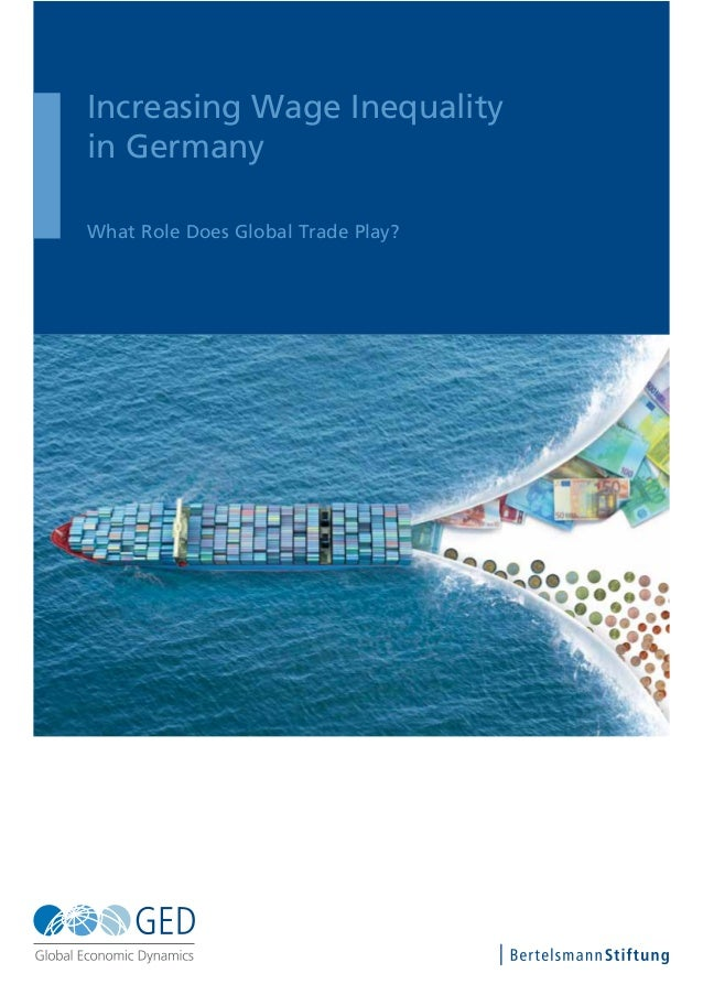 Increasing Wage Inequality in Germany What Role Does Global Trade Play?